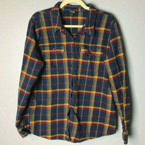 Patagonia Fjord Flannel Shirt Size XL Long Sleeves